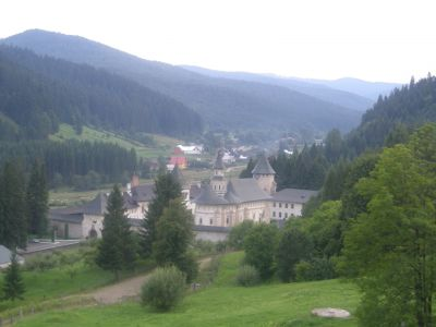 Klosterkyrkan i Putna.