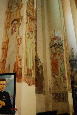 Marie himmelfärds kyrka.