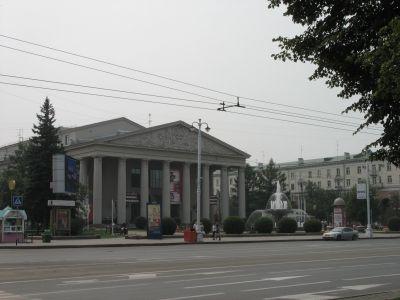Sovjetskij prospekt i kemerovo med dramatiska teatern for Hem satteldorf prospekt