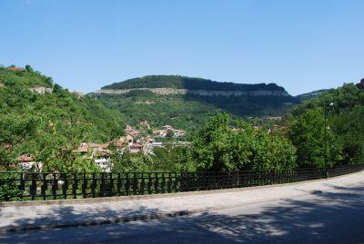 I Veliko Turnovo, nedanför Tsarevets.