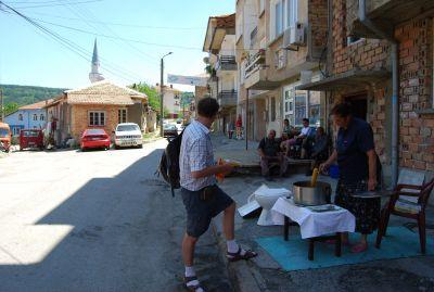 I de turkiska kvarteren.