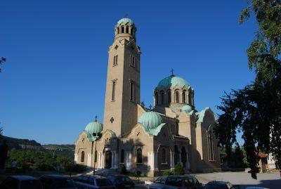 Katedralen i Veliko Turnovo.
