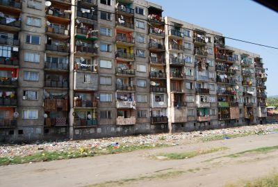 Romsk bosättning.