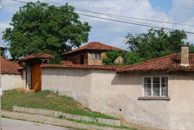 Kalofer, en småstad i centrala Bulgarien.