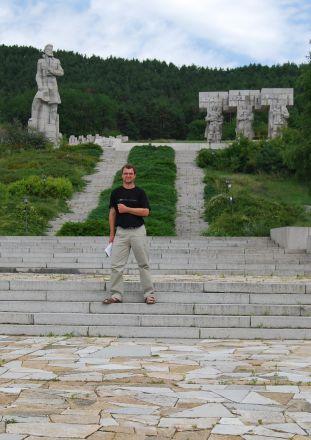 Christo Botev-monumentet i Kalofer.