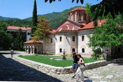 Kyrkan Sv. Arhangeli i Batjkovo-klostret.