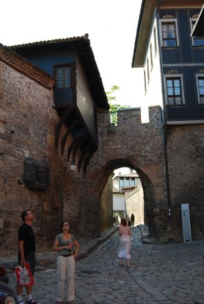 Plovdiv, Gamla stan.