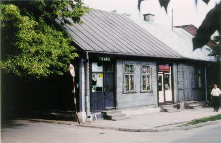 Włodawa. Söder om denna ort ligger Chelm som figurerar i en bok av Singer: The fools of Chelm and their history. Foto: Ulf Irheden.