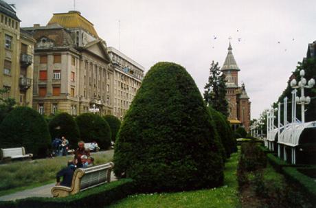 Piaţa Victoriei (Segertorget), Timişoara.