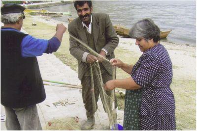 Vid Ohrid-sjön har fisket alltid varit en viktig näring.