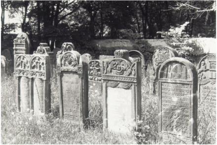 Judiska begravningsplatsen, Warszawa, 1993. Foto: Ulf Irheden.